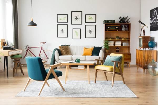 Wohnen-im-Stil-der-60er-Jahre-die-Retro-Mobel
